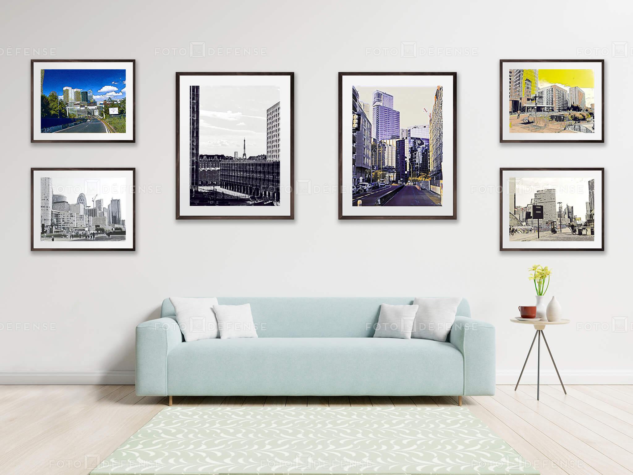 Photo : La Défense en 6500 photos de ma composition