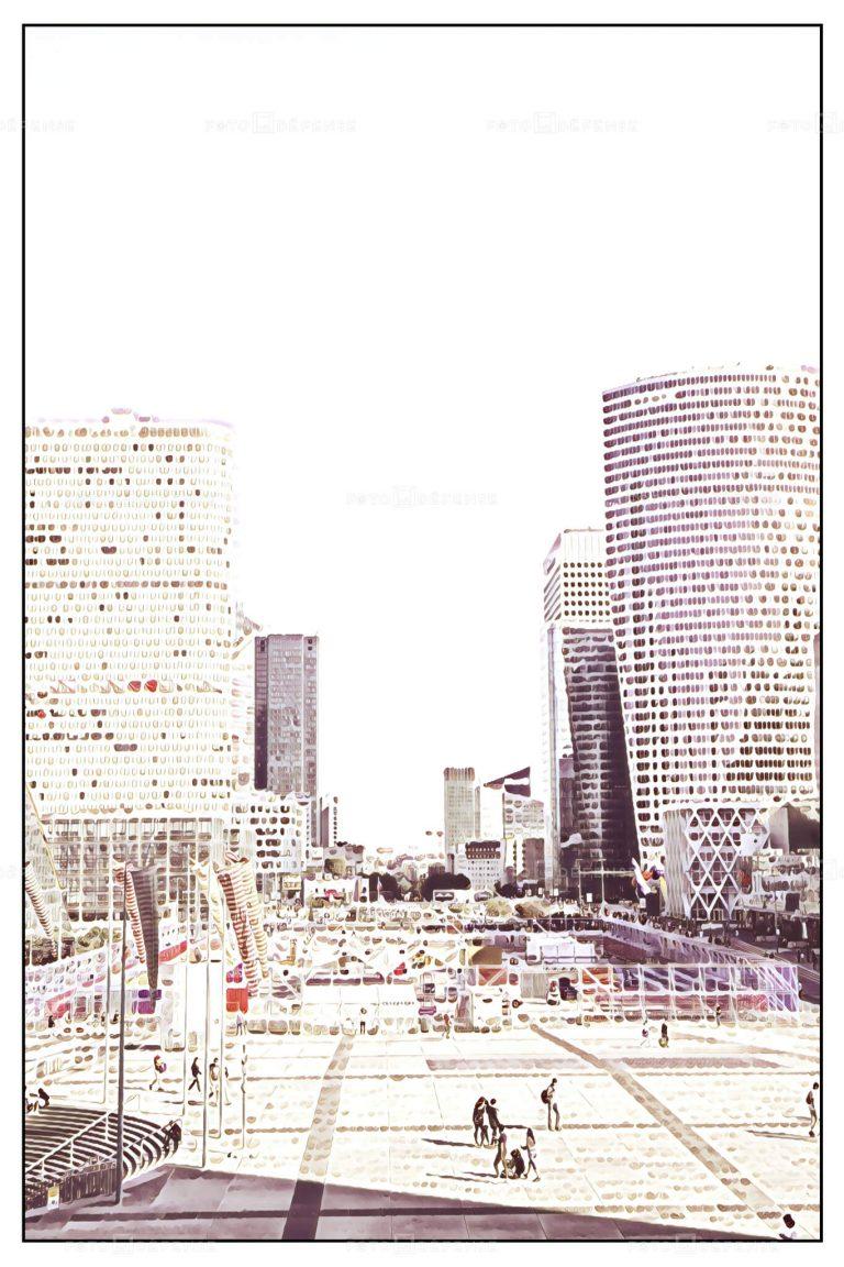 Top photo: La Défense - Paris - 92