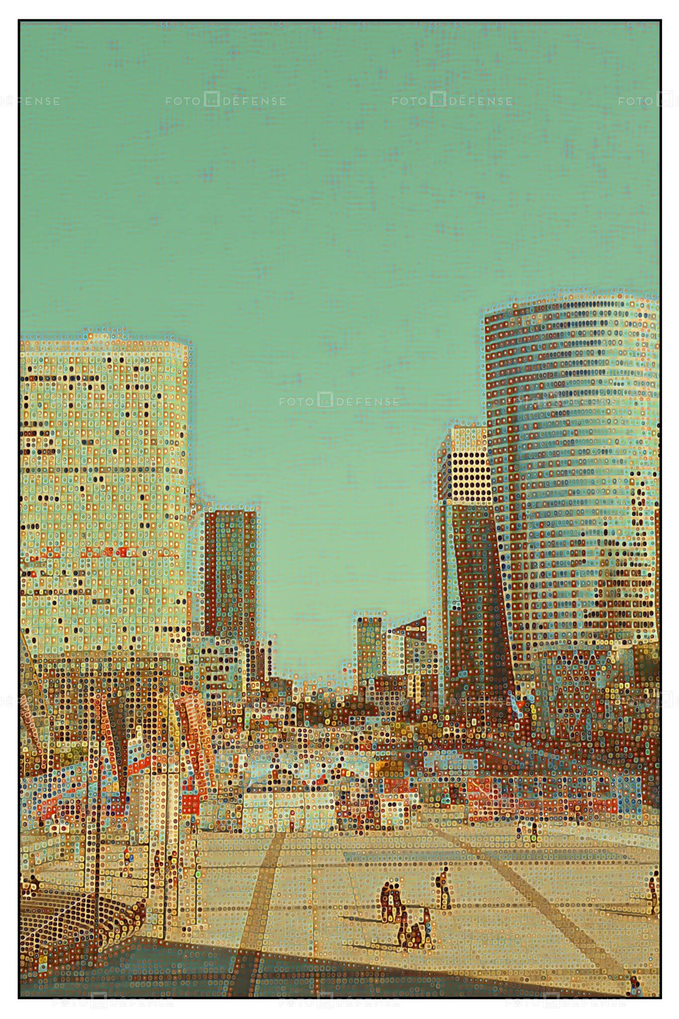 Quartier De La Défense images et les photos d'actualités
