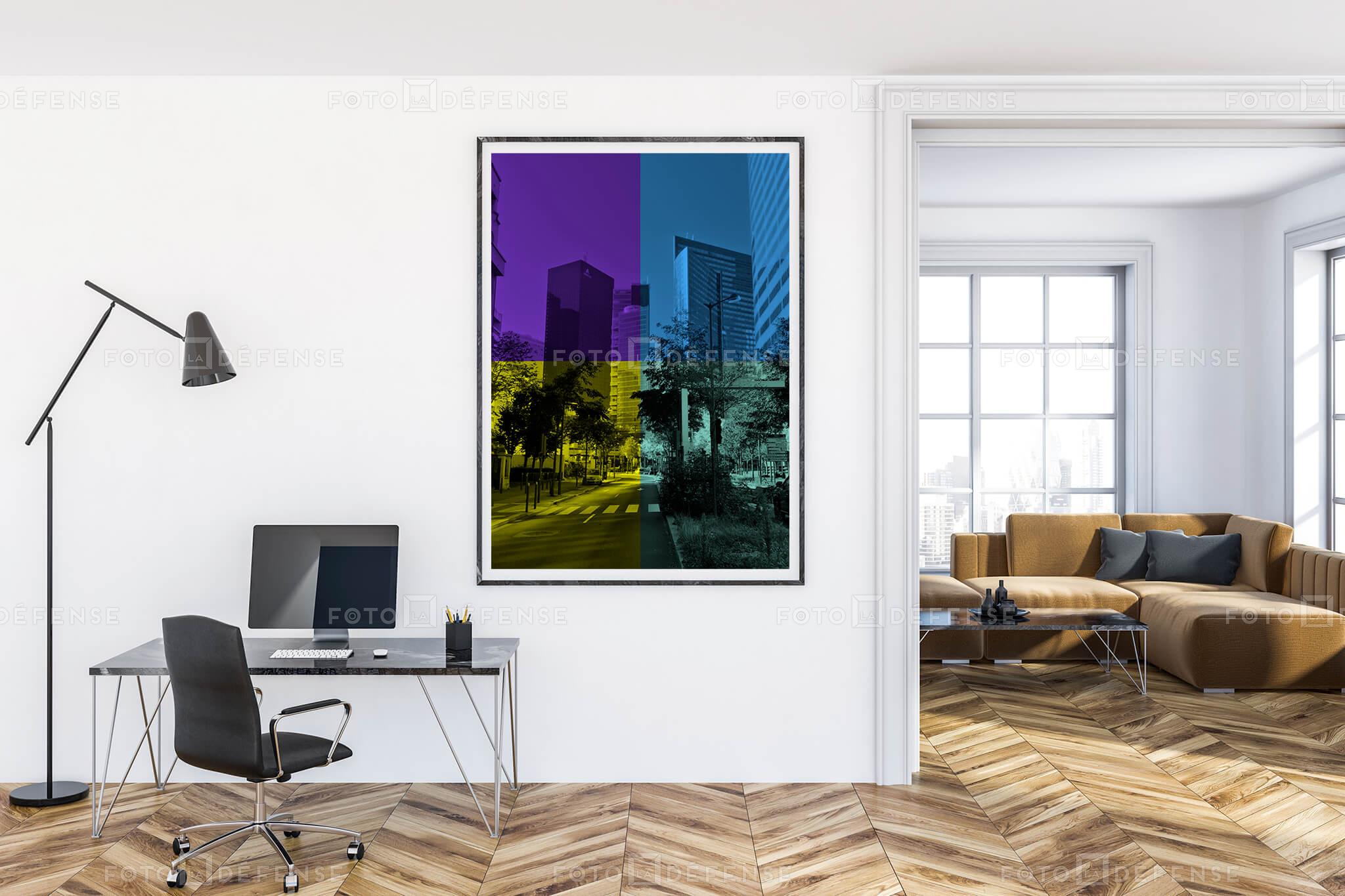 Quartier De La Défense Banque d'images