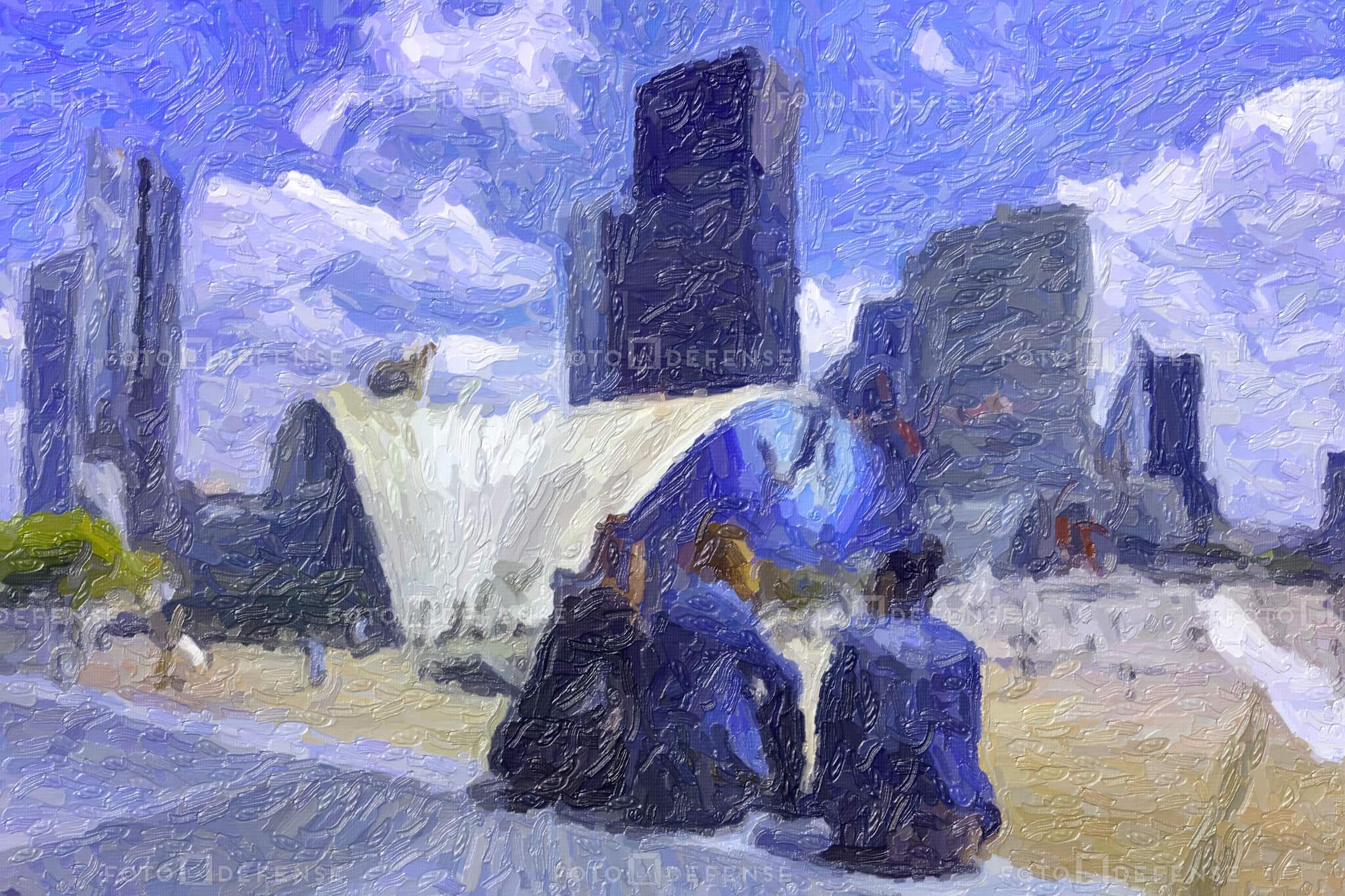 images et les photos d'architecture Quartier De La Défense